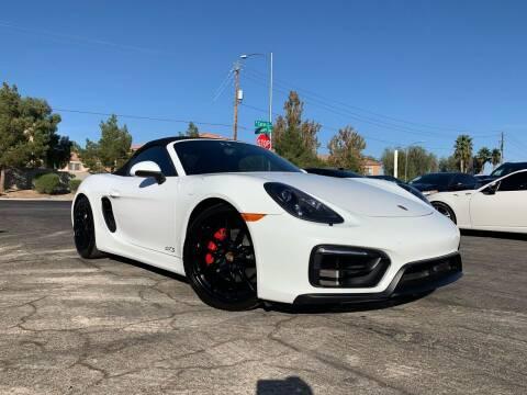2016 Porsche Boxster for sale at Boktor Motors in Las Vegas NV