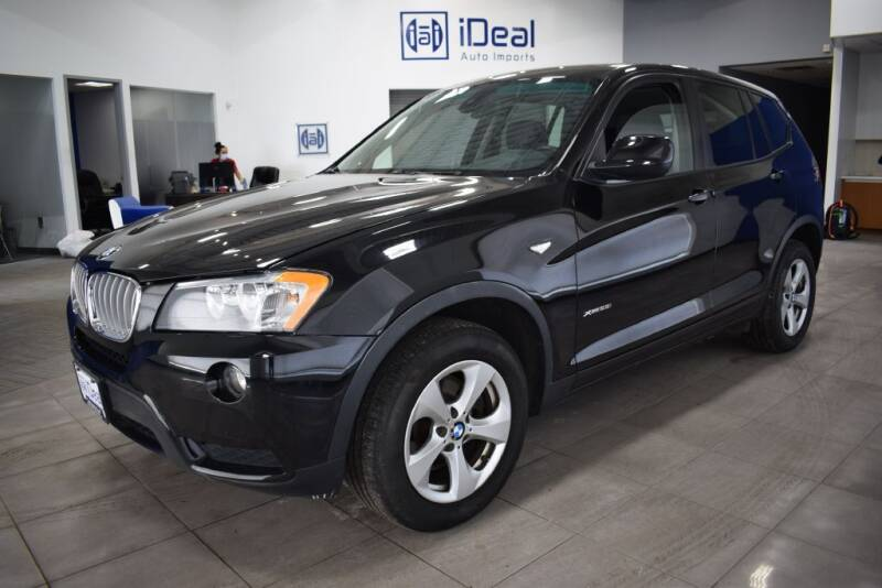 2012 BMW X3 for sale at iDeal Auto Imports in Eden Prairie MN
