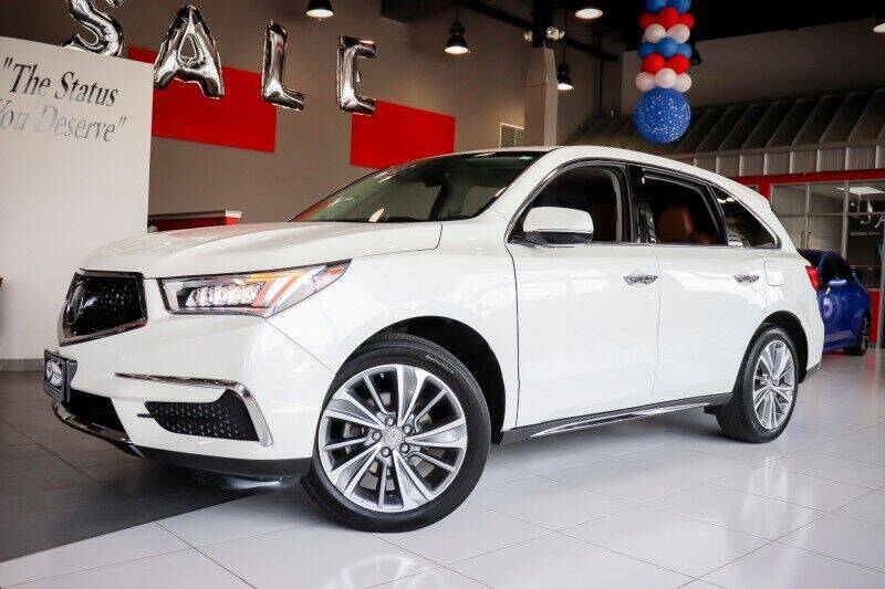 2018 Acura MDX for sale at Quality Auto Center of Springfield in Springfield NJ