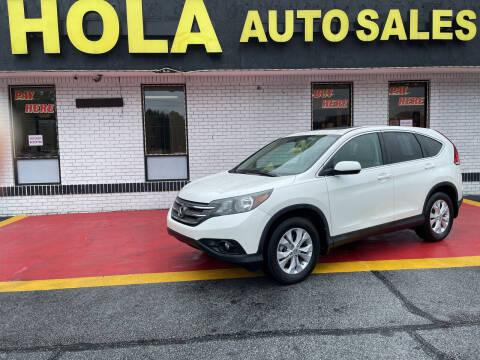 2012 Honda CR-V for sale at HOLA AUTO SALES CHAMBLEE- BUY HERE PAY HERE - in Atlanta GA