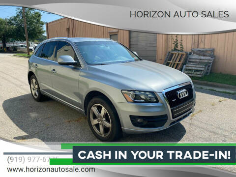 2010 Audi Q5 for sale at Horizon Auto Sales in Raleigh NC