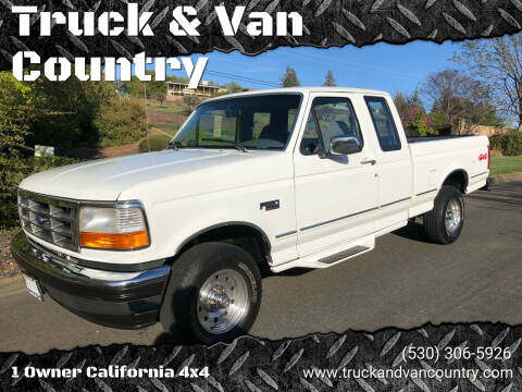 1995 Ford F-150 for sale at Truck & Van Country in Shingle Springs CA