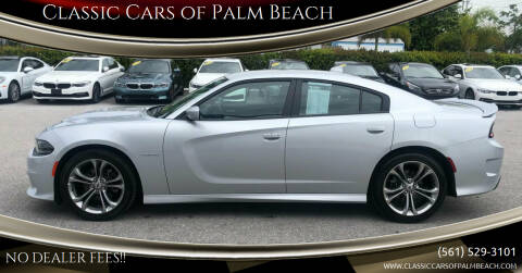 2021 Dodge Charger for sale at Classic Cars of Palm Beach in Jupiter FL