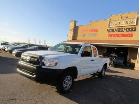 2015 Toyota Tacoma for sale at Import Motors in Bethany OK