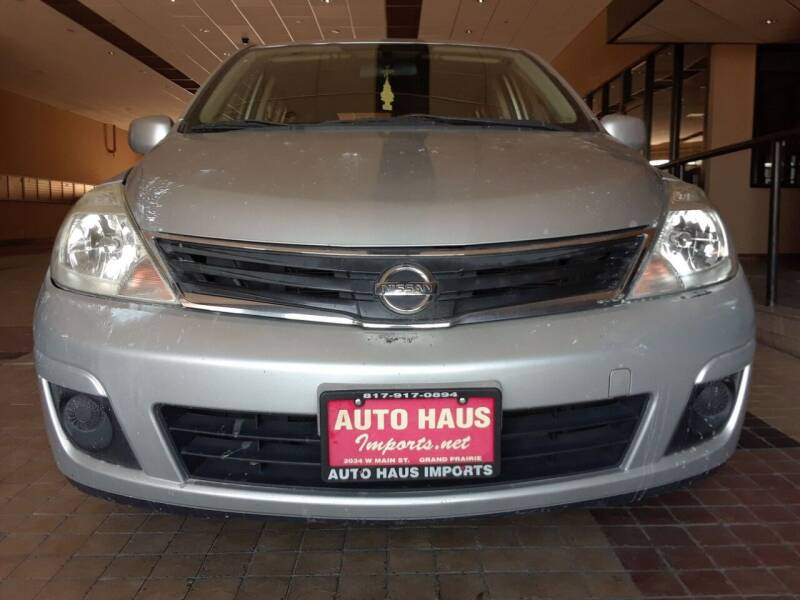 2010 Nissan Versa for sale at Auto Haus Imports in Grand Prairie TX