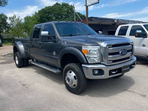 2015 Ford F-350 Super Duty for sale at Texas Luxury Auto in Houston TX
