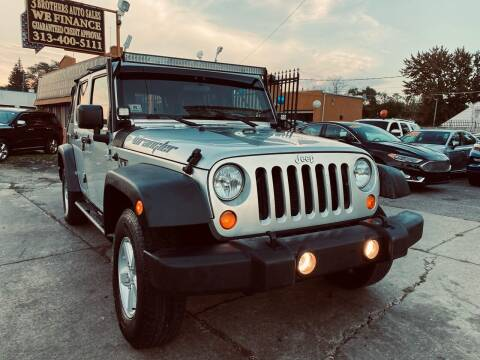 2007 Jeep Wrangler Unlimited for sale at 3 Brothers Auto Sales Inc in Detroit MI