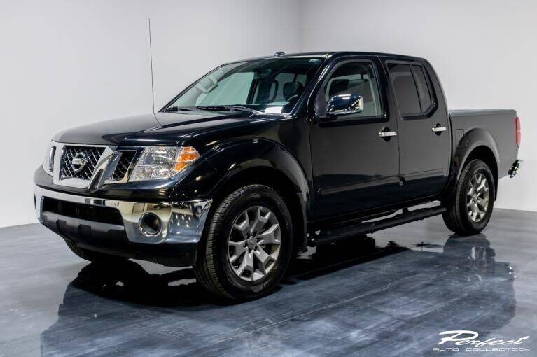 2019 Nissan Frontier for sale at Econo Auto Sales Inc in Raleigh NC