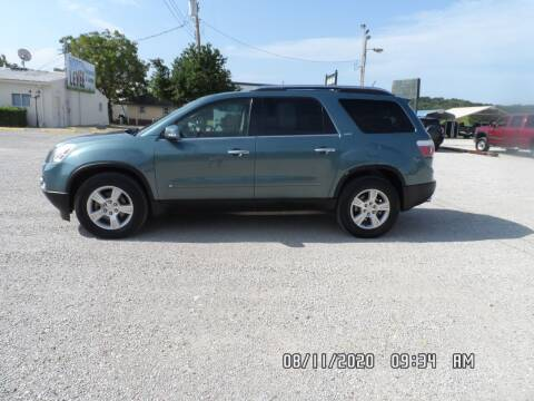 2009 GMC Acadia for sale at Town and Country Motors in Warsaw MO