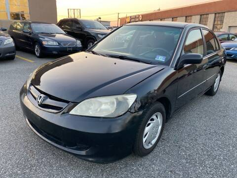2005 Honda Civic for sale at MAGIC AUTO SALES - Magic Auto Prestige in South Hackensack NJ