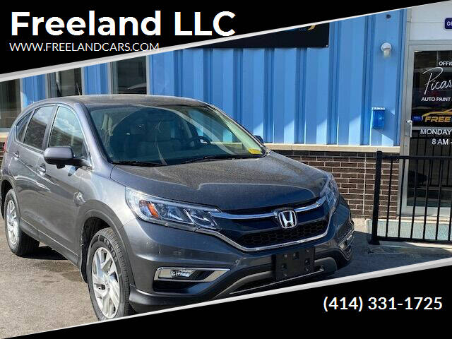 2016 Honda CR-V for sale at Freeland LLC in Waukesha WI