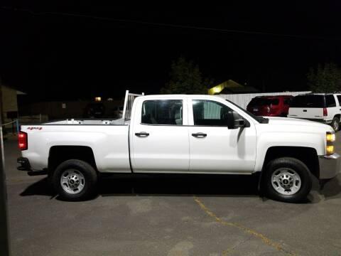 2015 Chevrolet Silverado 2500HD for sale at Freds Auto Sales LLC in Carson City NV