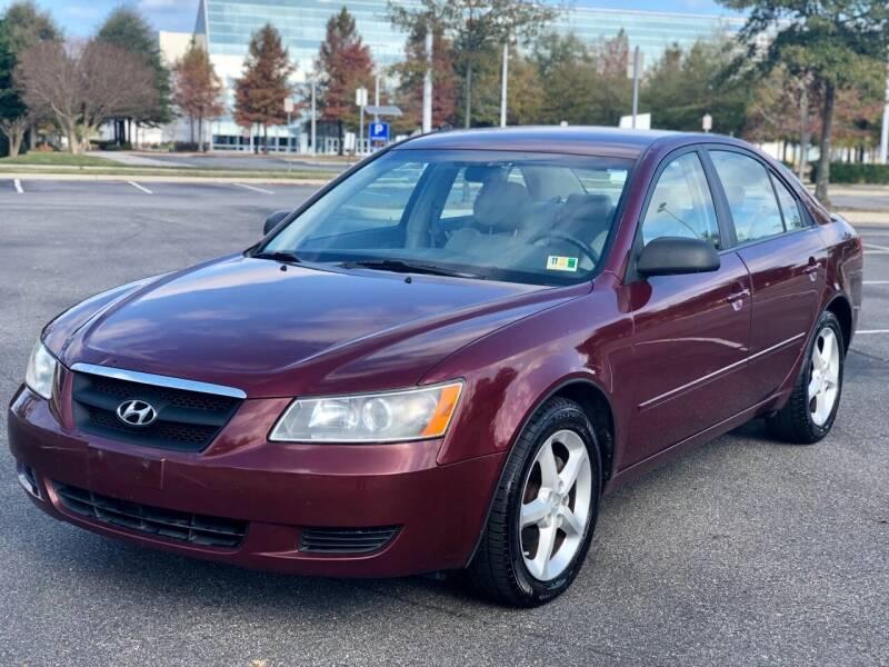 2007 Hyundai Sonata for sale at Supreme Auto Sales in Chesapeake VA