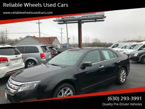 2011 Ford Fusion for sale at Reliable Wheels Used Cars in West Chicago IL