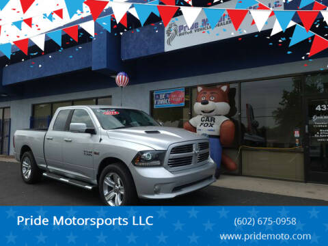 2014 RAM Ram Pickup 1500 for sale at Pride Motorsports LLC in Phoenix AZ