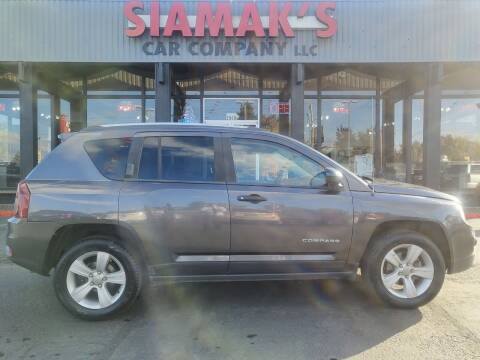 2016 Jeep Compass for sale at Siamak's Car Company llc in Salem OR