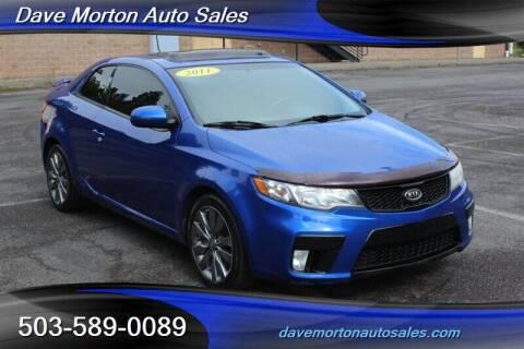 2011 Kia Forte Koup for sale at Dave Morton Auto Sales in Salem OR