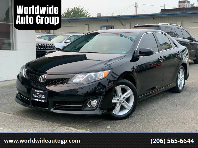 2013 Toyota Camry for sale at Worldwide Auto Group in Auburn WA