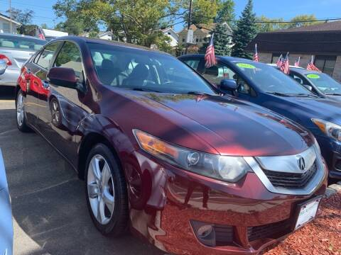 2010 Acura TSX for sale at DNS Automotive Inc. in Bergenfield NJ
