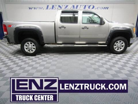 2012 GMC Sierra 3500HD for sale at LENZ TRUCK CENTER in Fond Du Lac WI