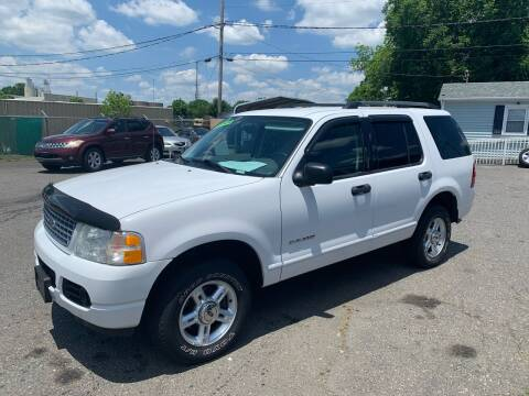 2004 Ford Explorer for sale at LINDER'S AUTO SALES in Gastonia NC