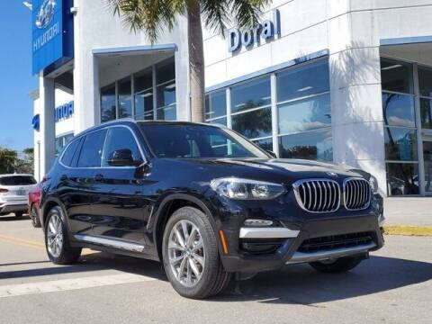 2019 BMW X3 for sale at DORAL HYUNDAI in Doral FL