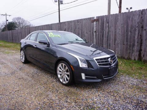 2014 Cadillac ATS for sale at BLUE RIBBON MOTORS in Baton Rouge LA