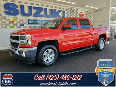 2016 Chevrolet Silverado 1500 for sale at BROOKS BIDDLE AUTOMOTIVE in Bothell WA