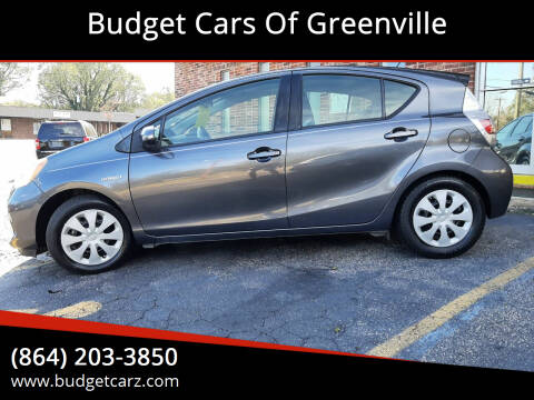 2014 Toyota Prius c for sale at Budget Cars Of Greenville in Greenville SC