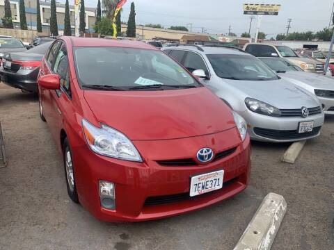 2010 Toyota Prius for sale at VR Automobiles in National City CA
