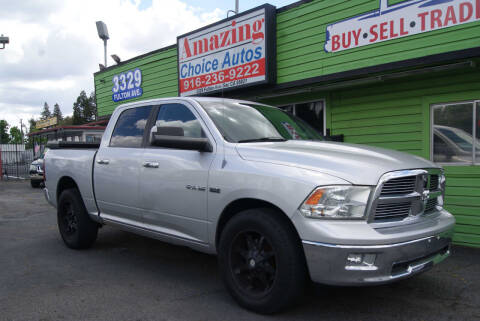 2010 Dodge Ram Pickup 1500 for sale at Amazing Choice Autos in Sacramento CA