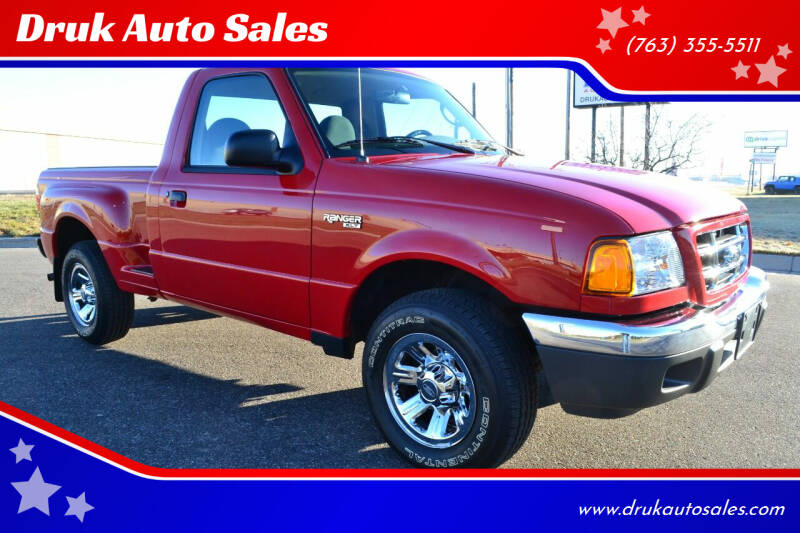 2003 Ford Ranger for sale at Druk Auto Sales in Ramsey MN