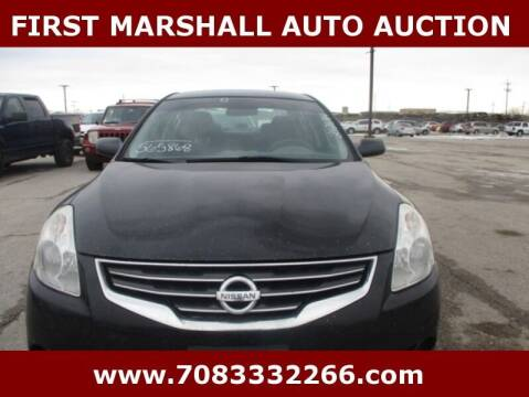 2010 Nissan Altima for sale at First Marshall Auto Auction in Harvey IL