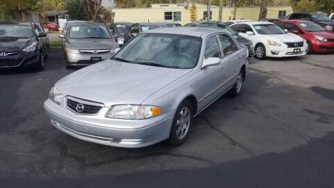 2002 Mazda 626 for sale at Nonstop Motors in Indianapolis IN