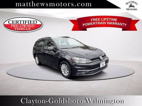 2019 Volkswagen Golf SportWagen for sale at Auto Finance of Raleigh in Raleigh NC