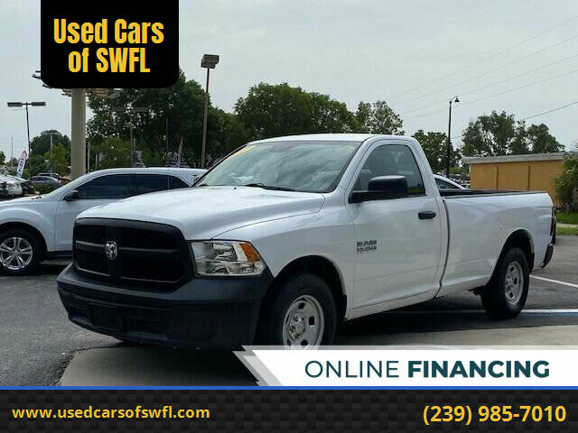 2017 RAM Ram Pickup 1500 for sale at Used Cars of SWFL in Fort Myers FL