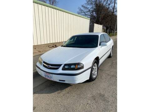 2000 Chevrolet Impala for sale at Dealers Choice Inc in Farmersville CA