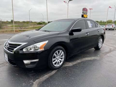 2015 Nissan Altima for sale at Browning's Reliable Cars & Trucks in Wichita Falls TX