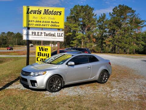 2012 Kia Forte Koup for sale at Lewis Motors LLC in Deridder LA