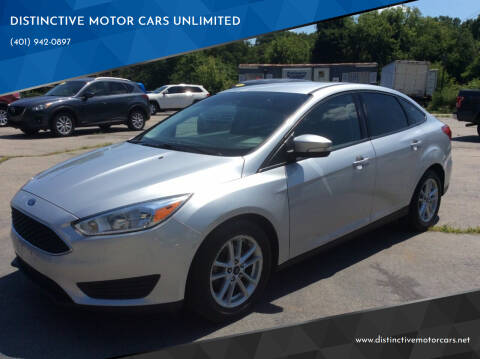 2017 Ford Focus for sale at DISTINCTIVE MOTOR CARS UNLIMITED in Johnston RI