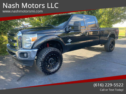 2012 Ford F-350 Super Duty for sale at Nash Motors LLC in Hudsonville MI