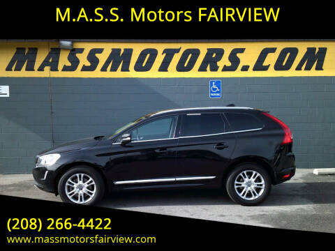 2016 Volvo XC60 for sale at M.A.S.S. Motors - Fairview in Boise ID