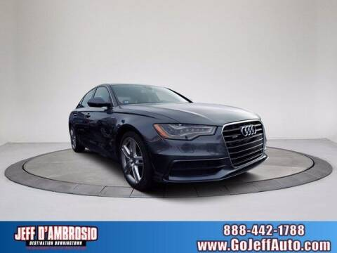 2015 Audi A6 for sale at Jeff D'Ambrosio Auto Group in Downingtown PA