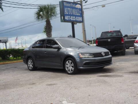 2017 Volkswagen Jetta for sale at Winter Park Auto Mall in Orlando FL