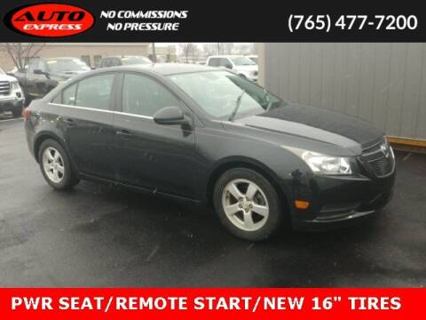 2012 Chevrolet Cruze for sale at Auto Express in Lafayette IN