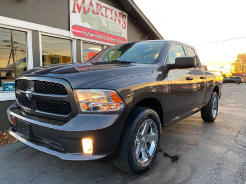 2017 RAM Ram Pickup 1500 for sale at Martins Auto Sales in Shelbyville KY