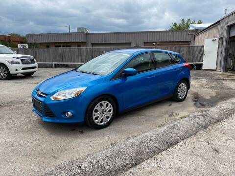 2012 Ford Focus for sale at Shooters Auto Sales in Fort Worth TX