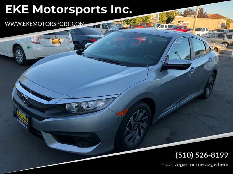 2016 Honda Civic for sale at EKE Motorsports Inc. in El Cerrito CA
