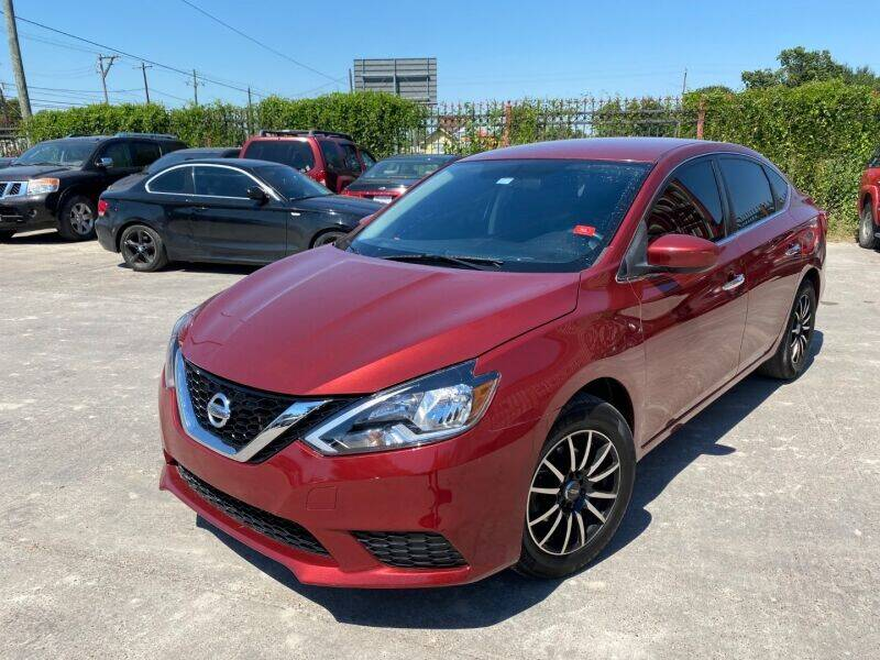 2017 Nissan Sentra for sale at Sam's Auto Sales in Houston TX