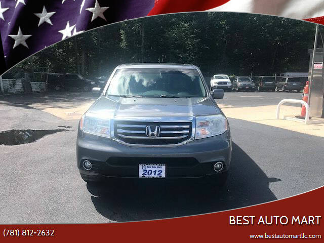 2012 Honda Pilot for sale at Best Auto Mart in Weymouth MA